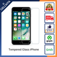 Tempered Glass Anti Gores Screen iPhone 5 5S SE 6 6S 7 8 Plus