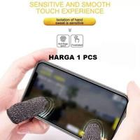 Sarung Tangan Jempol Jari Anti Basah Keringat Layar HP PUBG Mobile