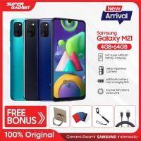 Samsung Galaxy M21 [4GB/64GB] Free Iring,Gurita,Tongsis,Kabel data