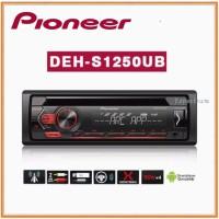 Pioneer DEH-S1250UB Tape Mobil DEHS1250UB Single Din Head Unit Audio