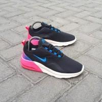 Sepatu Pria Wanita Nike Air Max Motion Black Pink Blue Original