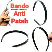 BANDO HITAM bando pria BANDO SPORT bando anti patah aksesoris rambut
