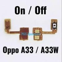 FLEXIBEL KONEKTOR POWER ON OFF OPPO NEO 7 / A33 / A33W / A1603
