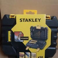 Mata Bor Mata Obeng Set Stanley STA88546-XJ 50 pcs Accessories Set