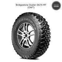 Ban mobil Bridgestone Dueler D674 MT 225/75 R16 (OWT)