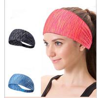Bandana Olahraga Fitness 3 Warna headband Bahan Katun