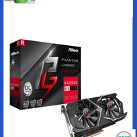 Unik VGA ASRock Radeon RX570 4GB Phantom Gaming Berkualitas