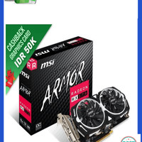 Promo MSI Radeon RX 570 8GB DDR5 - Armor 8G OC Murah