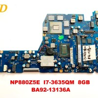 Samsung NP880Z5E laptop motherboard NP880Z5E I7-3635QM 8GB BA92-13136A