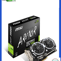 Jual MSI GeForce GTX 1060 3GB DDR5 - Armor 3G OC V1 Diskon