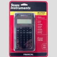 TI BA II Plus Professional - Kalkulator Finansial - Texas Instrument