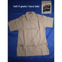 Baju Seragam Pramuka Pembina SMA Lengan Pendek Merk Seragam Murah
