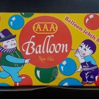 mainan jadul balon tiup merk AAA