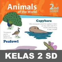 Animal World Buku Keterampilan Aktivitas Kelas 2 SD Mengenal Hewan