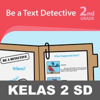 Text Detective Buku Keterampilan Aktivitas Kelas 2 SD Belajar Membaca