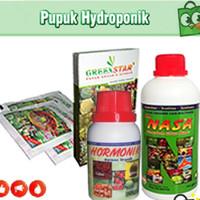 Pupuk Hidroponik - Paket Pertanian Poc Nasa, Hormonik, Greenstar Nasa