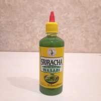 [IMPOR THAILAND] nang fah sriracha WASABI hot chili sauce 450 ml