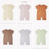 Cotton Cub Playsuit Baju Tidur Anak Bayi Sleepsuit Baby Piyama Anak