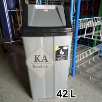 Tempat Sampah / Bak Sampah Plastik MPW 42 L (Gojek/Grab)