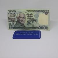 Uang Kuno 50000 Soeharto Kertas ( ekonomis )