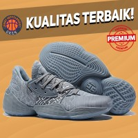 Sepatu Basket Sneakers Adidas Harden 4 Solid Grey Abu Pria Wanita