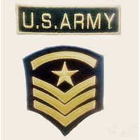 Patch / Emblem Bordir Set US ARMY Keren Terbaru