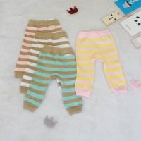 Legging Bayi Pastel Series - 3-6 Bulan, Merah Muda