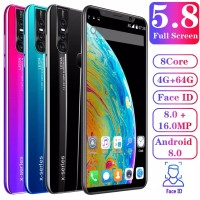 Smartphone X27 Plus Android Murah RAM 4GB ROM 64GB bkn samsung oppo - Hitam