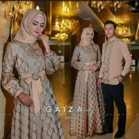 Couple Baju Muslim Wanita $ Pria ( Cocok untuk Undangan )
