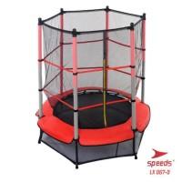 Trampoline Untuk Anak Anak Trampolin Lompat Olahraga Original Speeds M - Merah