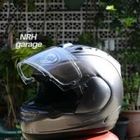 (SOLD) Helm Second Arai RX7 RR5 Grey Size XL Not AGV, Shoei,Nolan