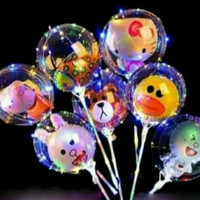 Balon Led Nyala Kedap Kedip 3mode - Bobo led - gambar