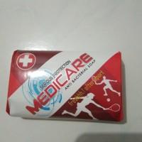 Sabun mandi medicare 90gr. Sabun kesehatan anti bakteri(merah)