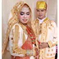 baju adat koto gadang minang (1 pasang dengan laki-laki)