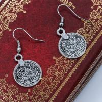 Anting koin gaya kuno Gaya bohemian / gaya etnik / liar