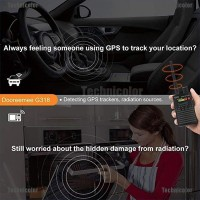 Tcid Anti-Spy G318 Hidden Camera Lens Laser GSM Device Finder Signal