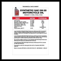 Grab Oke Lucas Oil Synthetic Sae 5W 30 Oli Motor 4T Jaso Ma2 Sinteti