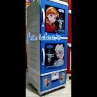 Lemari Plastik NBF Frozen / Barbie Napolly 2 pintu + 1 Laci tools