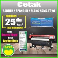 Spanduk / Banner Bahan Flexy