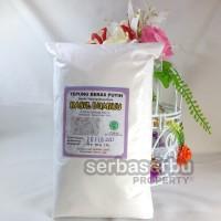 Tepung Beras Putih Kemasan 1 Kg (Sudah Dinkes PIRT & LPPOM MUI)