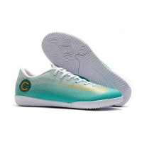 Sepatu Futsal Nike Mercurial Vapor XII Academy CR7 Light Green IC