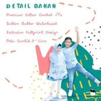 Discount Sarimbit Tunik Kaos Anak Muslim Baju Couple Adik Kakak Little