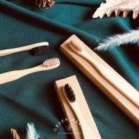 Sikat Gigi Bambu / Bamboo Toothbrush Premium Eco Friendly