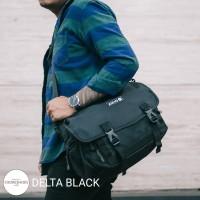 TAS SELEMPANG LAPTOP MESSENGER SLING BAG ARCIO DELTA BLACK