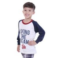 baju kaos atasan anak laki-laki dream usia 2-3-4-6-10-12 murah TDR-65