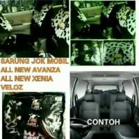 Sarung Jok Mobil All New Avanza-Xenia Set 2012-2014 Motif Moo