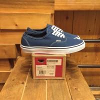 Sepatu Vans Authentic Classic Navy Blue BNIB Original Premium