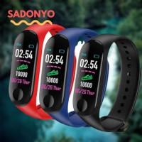Smartwatch M3 Plus Smartband bracelet watch monitor kalori, jantung