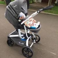 kereta bayi Stoller Baby Quantum Cocolatte N120