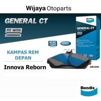 Kampas Rem Depan Brake Pad Innova Reborn Bendix